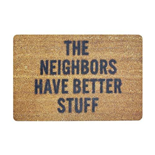 Pinji Funny Doormat Soft Entrance Mat Floor Mat Non Slip Rug Indoor/Outdoor/Front Door/Bathroom Mats...