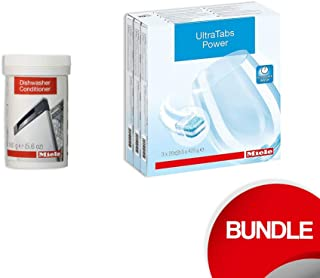 Miele Dishwasher Bundle - Dishwasher Tabs (60 tabs) & Dishwasher Conditioner in Powder Form