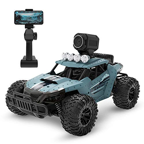 OD.zepp Ferngesteuertes Auto mit 720P HD FPV Kamera, 1/16 Lectric High Speed Racing RC Auto Fernbedienung Klettern Offroad Buggy Trucks
