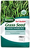 Scotts Turf Builder Grass Seed Dense Shade Mix - 7 Lb. - Grows in as Little as 3 Hours of Sunlight,...