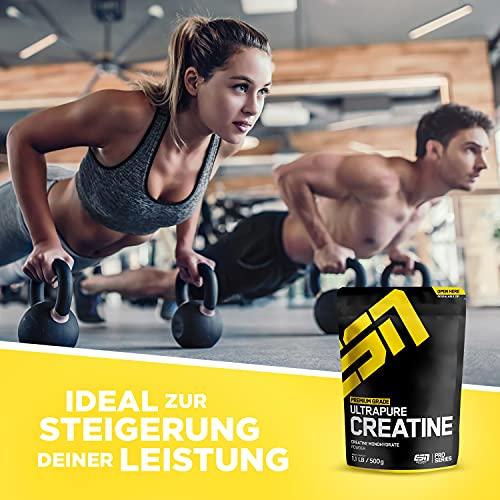 ESN Ultrapure Creatine Monohydrate, Pro Series, 1er Pack (1 x 500g Beutel) - 6