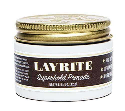 Layrite Superhold Pomade, 1.5 oz