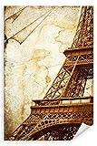 Postereck 3050 - Poster & Leinwand, Eiffelturm Paris
