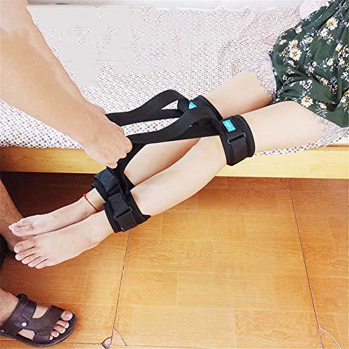 AQzxdc Lifter Leg Lifter Strap, Oberschenkel Ältere Hebegeräte Foot Loop Mover mit Handgriff für Kinder mit Behinderung Senior, Band Mobility Aid,2pcs,M