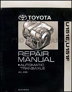 2003-2006 U151E U151F Auto Transmission Repair Shop Manual Avalon Camry RX ES 330 Highlander Sienna Solara