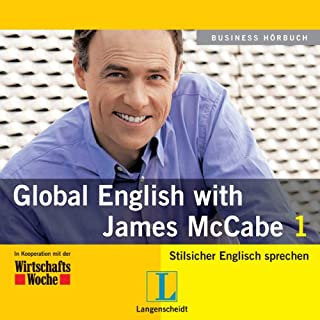 Langenscheidt Global English with James McCabe 1 Titelbild
