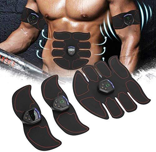WNN-URG Ccsme ABS estimulador muscular Digital Trainer, Portátil Formación engranaje de la correa, pérdida de peso muscular aptitud del edificio de equipo, con 6 modos de masaje 10 fuerzas, for el abd