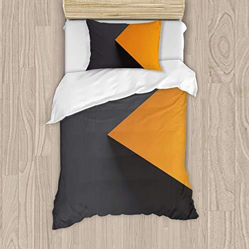 Ropa de cama de 135 x 200 cm, colcha, edredón y funda de almohada de 50 x 80 cm, con cremallera y 130% algodón.
