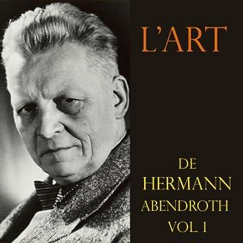 L'art de Hermann Abendroth, vol. I