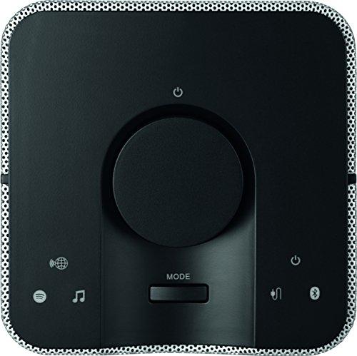 TechniSat AUDIOMASTER MR1 - 30 Watt ELAC WLAN-Lautsprecher mit UPnP Audiostreaming - Multiroom Speaker zum Abspielen von Internetradio, Spotify und Bluetooth