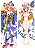Fate/Grand Order Fate/GO FGO 玉藻の前 両面プリント ピーチスキン キャラグッズ アニメ 等身大 抱き枕カバー Anime Pillow Cover【サイズ選択可】