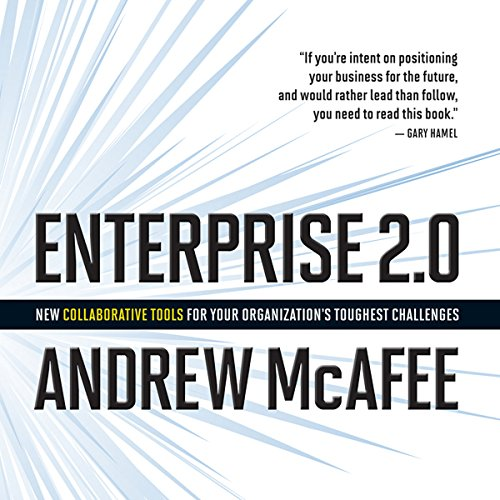 Enterprise 2.0 audiobook cover art