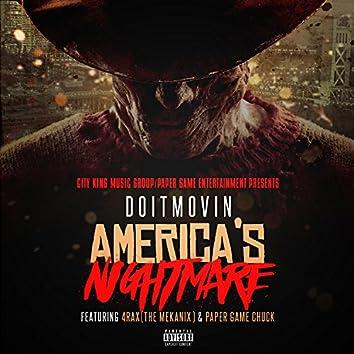 America's Nightmare (feat. 4rAx & Paper Gang Chuck) - Single