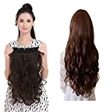 """Artifice Super Volume 200g 26"""" 5 Clip Based Curly/Wavy Synthetic Fibre Hair Extension"""