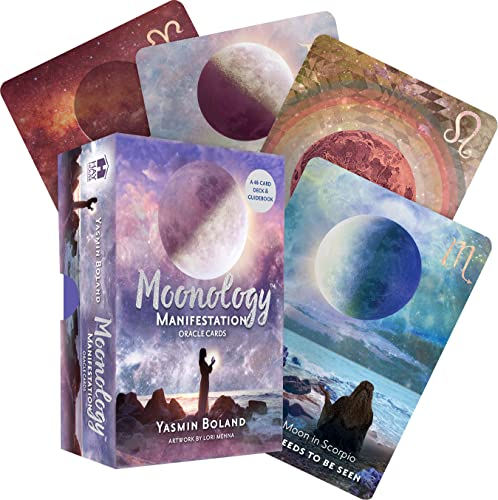 Moonology Manifestation Oracle: A 48-Card Deck and Guidebook