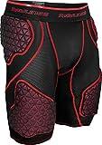 Rawlings Sporting Goods Boys 5-Pad D-Flexion Compression Shorts, Medium, Black