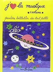 livre J'aime la musique Volume 1