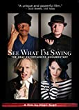 27 x 40 See What I'm Saying: The Deaf Entertainers Documentary Movie Poster