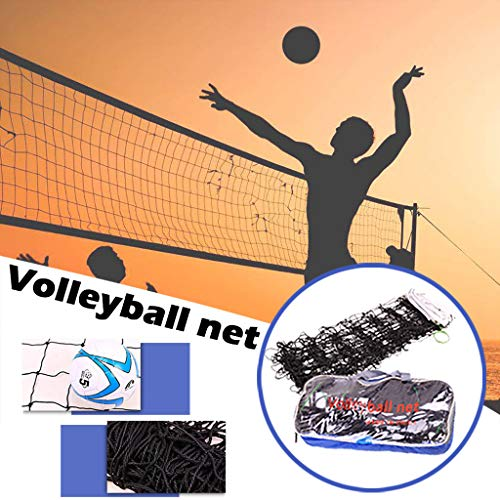 Fantastic Prices! Portable Badminton, Tennis, Volleyball, Pickleball Net | 31ft Wide | 3.3ft Height ...