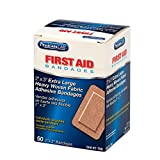Not made with natural rubber latex Ideal for minor cuts, abrasions and puncture wounds Helpsto repel water and dirt Fabric is designed to stretch and conform to the wounded area Bandage is ventilated to aid in the natural healing process