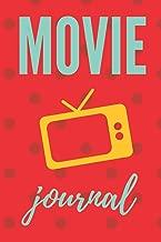 Movie journal: Movie journal ticket stub logbook notebook