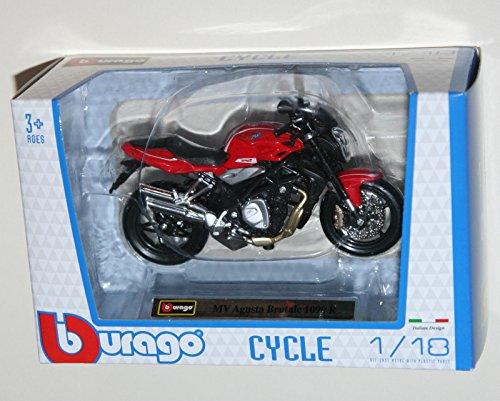Burago – MV Agusta Brutale 1090 R – Motorrad spritzgußmodell Maßstab 1: 18