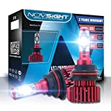 H1 H4 H7 H11 H13 LED de voiture ampoules de phare kit de conversion, Nighteye H4 LED de voiture ampoules...