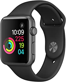 Apple Smart Watch Resin Band For iOS,Black - MP022LL/A