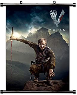 Vikings Season 2 TV Show Fabric Wall Scroll Poster (32x46) Inches