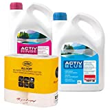 Set Thetford Activ Blue & activo Rinse Baños por adicional de 2litros, disponible con papel higiénico