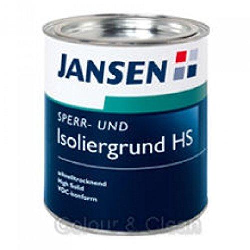 JANSEN Sperrgrund und Isoliergrund HS High Solid 750ml weiß
