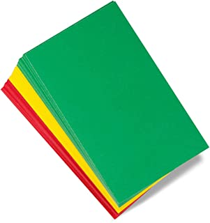 Hygloss Behavior Cards - Motivational for Students & Kids - Red, Yellow & Green Incentive Cards for Classroom - Early Childhood Education Material - Pocket Chart Cards - 3