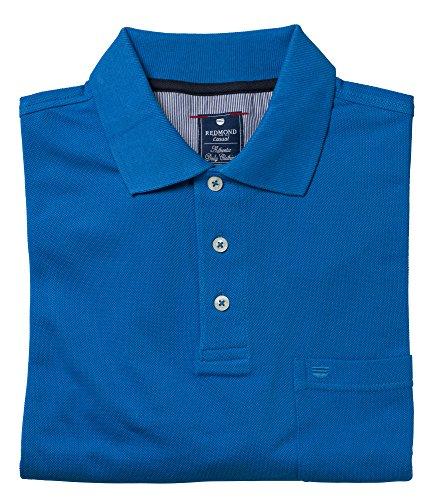 Redmond Polo Shirt Kobaltblau, Größe: XXL