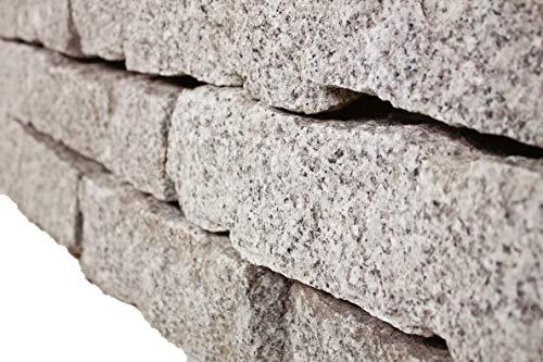 Granit Mauersteine gespalten, ca. 10/20 / 40 cm, 500 Kg im Big Bag