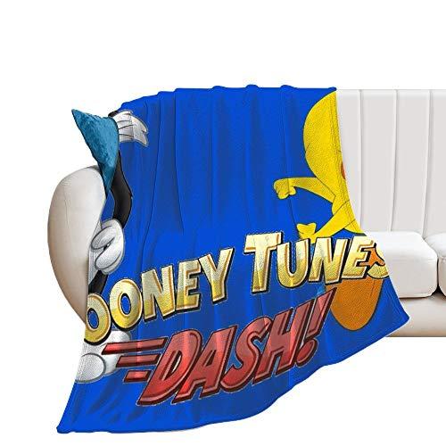 Custom made Tweety Bird Looney Tunes Manta suave y transpirable para guardería y cuna, manta para cochecito de bebé, manta doble, universal, 150 x 130 cm