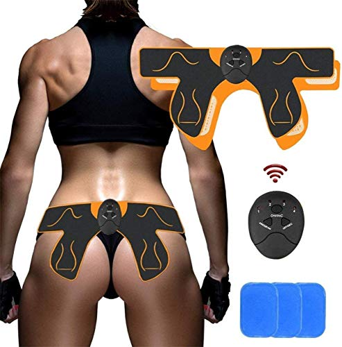 Ben Belle Abs Stimulator Electric Hips Trainer,Hip Trainer,Electronic Backside Muscle Toner, Smart Wearable Buttock Ab Stimulator for Men Women,Slimming Machineat Home- Fitness Equipment