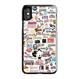 Cell World LLC - Broadway Musical Collage Hard Rubber Phone Case for Apple iPhone X/XS