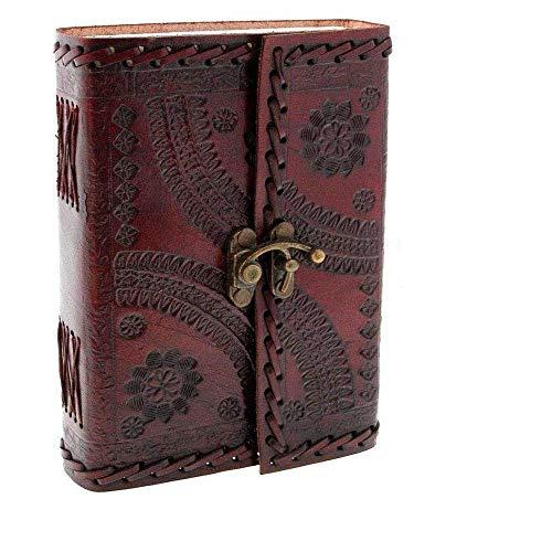 Leder-Tagebuch, Vintage-Stil, blanko, handgefertigtes Buch Geschenke