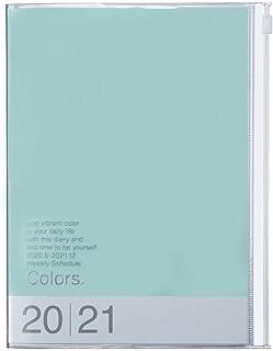 Mark's Europe 2020/2021 - Agenda de bolsillo (A5, vertical), color verde menta