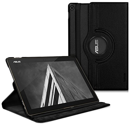 kwmobile Schutzhülle kompatibel mit Asus ZenPad 10 Z301ML / Z301MFL - Hülle 360° Tablet Cover Hülle Schwarz