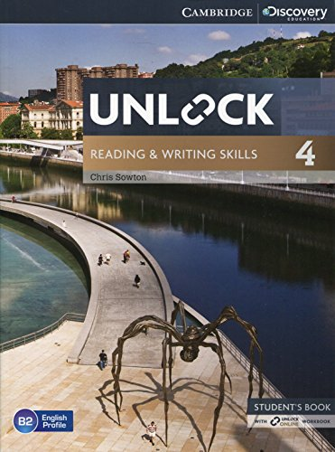 Unlock 4 Reading and Writing Skills Student's Book and Online Workbook [Lingua inglese]