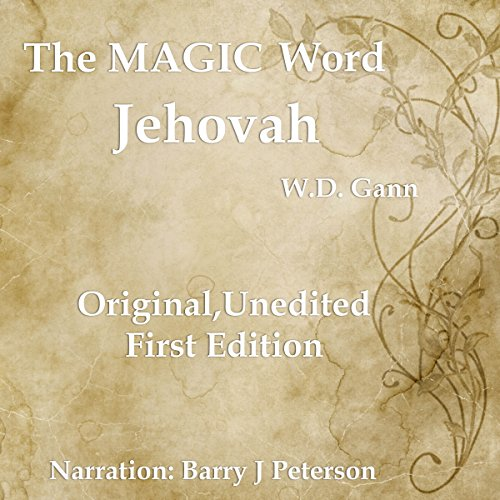 The Magic Word audiobook cover art