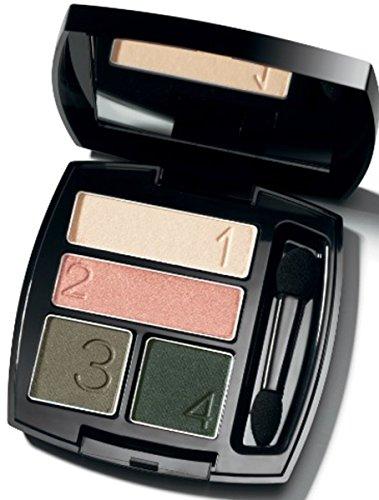 AVON True Colour Lidschatten Quartett Fb. Emerald Cut