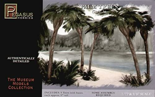 precios bajos Pegasus Hobbies Hobbies Hobbies 1 72 5 Palm Trees (5) PGH6503 by Pegasus Hobby  bienvenido a orden