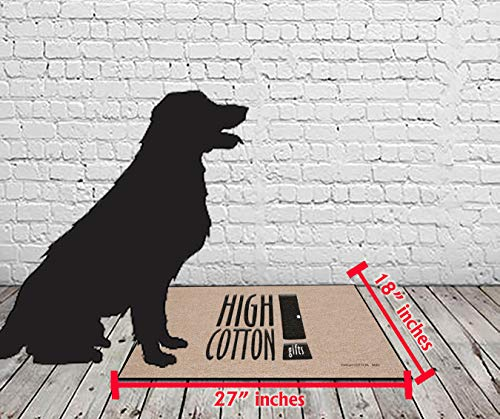 Product Image 2: HIGH COTTON Welcome Doormat – Happy Camper with Retro Camper