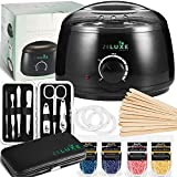 Waxing Kit for Women - Wax Warmer - Home Waxing Kit for Hair Removal - Manicure Set Included for Perfect Salon...