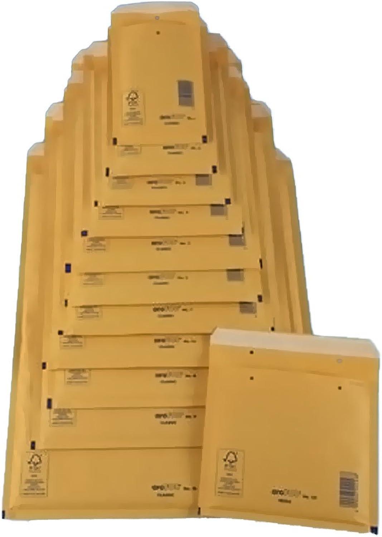 600 x LuftpolsterVersandtaschen Braun  Gr.4, DIN B5  B007KMFQVY    | Lebendige Form