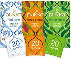 Pukka Thee After-Dinner Bundel - 60 zakjes - 3 smaken x 20 zakjes
