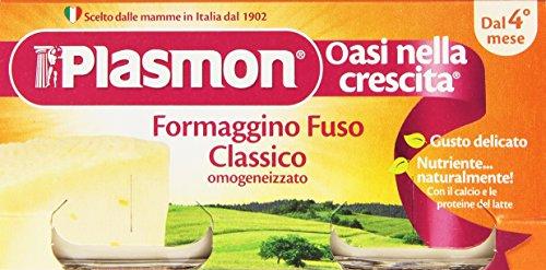 Plasmon Omogeneizzato Formaggino Fuso Classico 2x80g