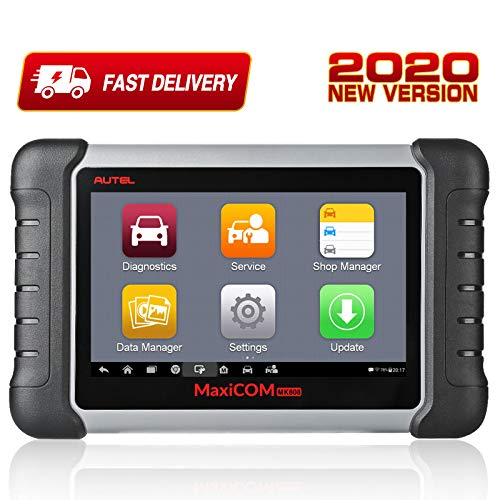 Autel Scanner MaxiCOM MK808, 2020 Newest OBD2 Car Diagnostic Scanner, Equipped with 25+ Maintenance Functions, All System Diagnosis, IMMO/EPB/BMS/SAS/TPMS/AutoVIN/ABS Bleeding (Original)